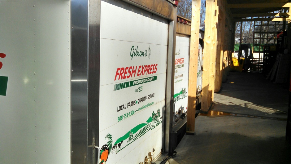 Fresh Express trucks