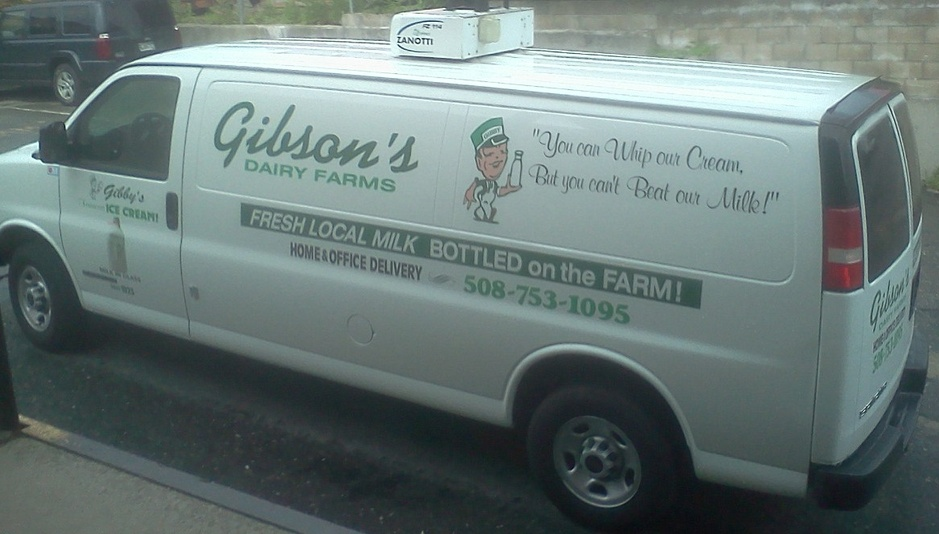 Gibson's home delivery truck